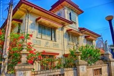 Ancestral house Philippine Architecture, Japanese Architecture, Philippine Houses, Good House, Fence Design, Pinoy, Old Photos, Home Crafts, Philippines