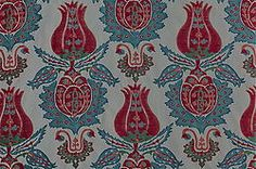 Ottoman motif upholstery fabric (price per metre). Available from www.susandeliss.com