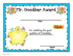 Getting ready for the end of the year: candy bar awards