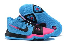 eb17ede7a3c1 2017 Cheap Nike Kyrie 3 Doernbecher Blue Black Pink On Sale Kyrie Irving  Basketball Shoes