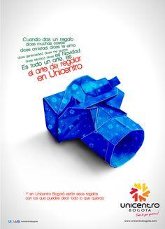 El arte de Regalar. Unicentro Bogotá by Pao Valencia, via Behance