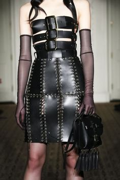 Discover NOWFASHION, the first real time fashion photography magazine to publish exclusive live fashion shows. Get to see the latest fashion runways in streaming! Dark Fashion, Live Fashion, Gothic Fashion, Leather Fashion, Fashion Show, Fashion Design, Punk Rock Fashion, Lolita Fashion, Fashion Boots
