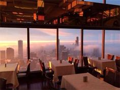 Best places to escape to around Chicago | The Signature Room at the John Hancock Center