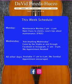 Week Schedule, Appointments, Messages, Learning, Studying, Teaching, Text Posts, Text Conversations