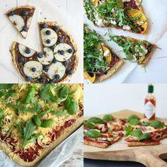 Beaufood recepten, Gezonde pizza maken, Glutenvrije pizza recept, Gezonde pizza bodem, Pizzabodem havermout, Glutenvrije foodblogs, Gezonde pizza recepten