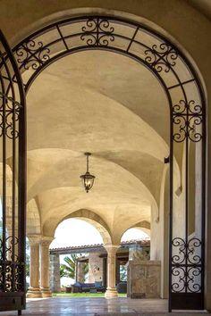Certainly a Grand entrance