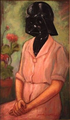 Thrift Store Paintings Meet Pop Culture