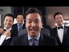 """The Tonight Show Starring Jimmy Fallon: Jimmy Sings """"Barbara Ann"""" With Five Wax Jimmys"""