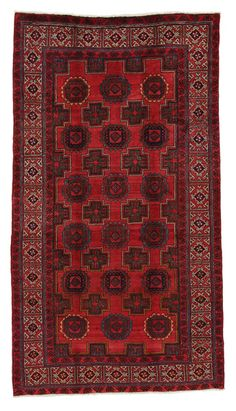Turkaman Persian Carpet 257x144