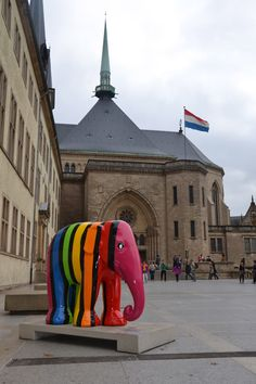 Elephant parade- Luxembourg