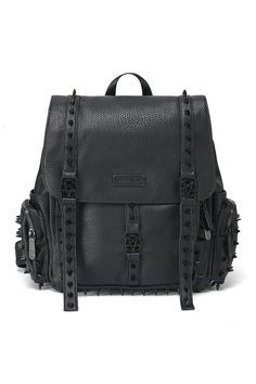 Thriller Studded Backpack by KILLSTAR. Available online now!