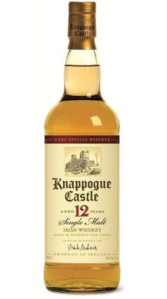 Knappogue Castle 12 Year Old Irish Whiskey - I've been to the castle, so I really need to taste this