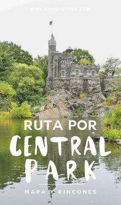 Ruta a pie por Central Park. Descubre qué visitar en Central Park en un recorrido de unas 3 horas (con mapa incluido). #NuevaYork