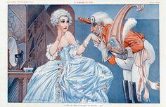 Maurice Milliere. La Noblesse en Folie. La Vie Parisienne, 1931. [Pinned 1-i-2015]