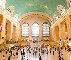 So much more than just a train station: Grand Central Terminal, New York City.