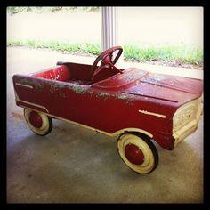 vintage murray pedal car 1229940_616373835074401_1874938503_n