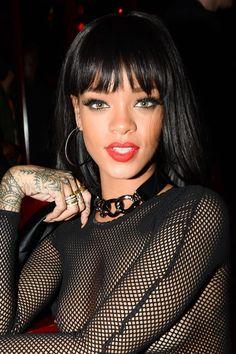 Rihanna 2014-making a fashion statement beautiful and she don't give a f*ck