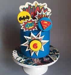 Superman Birthday Party, 6th Birthday Cakes, Happy 6th Birthday, Marvel Cake, Superman Cakes, Disney Frozen Cake, Avenger Cake, Monster High Cakes, Superhero Cake