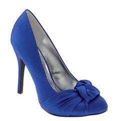 Fergie 'Safra' Pump; something blue