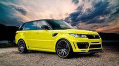 Monkey Motor: Range Rover Sport by Aspire Design