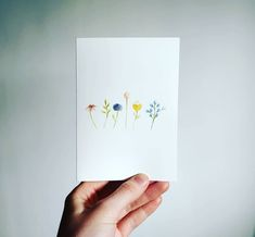 "Beautiful folded card with watercolour flower illustration! 🌻 ""Binnenkort via Etsy verkrijgbaar! Een blanco bloemenkaart, geschilderd met waterverf, te gebruiken…"" Beautiful Words, Watercolour, Illustrations, Instagram, Design, Pen And Wash, Tone Words, Watercolor Painting, Pretty Words"