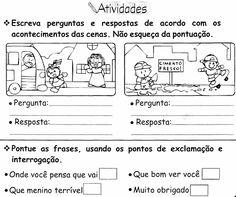 144 Melhores Imagens De Tarefas Escolares Literacy Activities