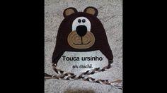 Touca Ursinho em crochê