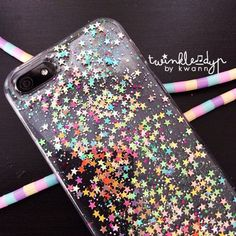 Fairy Pastel - iPhone case, Glitter case for iPhone 4,4S | 5,5S | 6,6Plus by TwinkleDYP on Etsy https://www.etsy.com/listing/151441884/fairy-pastel-iphone-case-glitter-case
