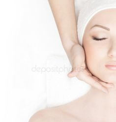 Young beautiful lady getting spa treatment Young And Beautiful, Beautiful Women, Beauty Spa, Spa Treatments, Photo Library, Facial, Lady, Massage, Image