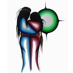 Simone McLeod (Ojibwe/Cree) and Zhaawano Giizhik (Anishinaabe): http://www.fisherstarcreations.com