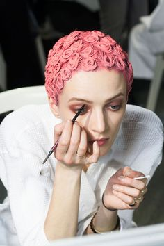 Givenchy | Pastel Hair FOR LATEST #HAIRSTYLES, ADVICE AND INSPIRATION VISIT WWW.UKHAIRDRESSERS.COM