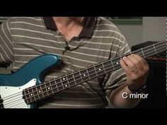 Bass for Jazz: Lesson Minor Scale Walking Pattern Acoustic Bass Guitar, Bass Guitars, Minor Scale, All About That Bass, Lessons Learned, Jazz, Music, Hobbies, Instruments