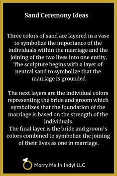 Unity Sand Ceremony scripts and ideas for your wedding. What Is Wedding, Wedding Sand, Wedding Ceremony Flowers, Irish Wedding, Wiccan Wedding, Wedding Ceremonies, Wedding Rustic, Wedding Vows, Wedding Dresses
