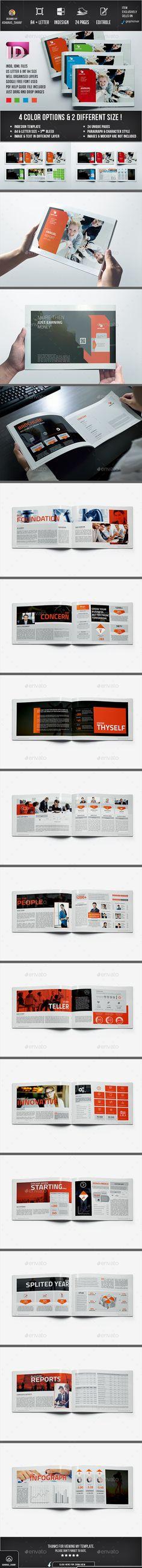 Annual Report Template PSD #design Download: http://graphicriver.net/item/annual-report-06/13542523?ref=ksioks