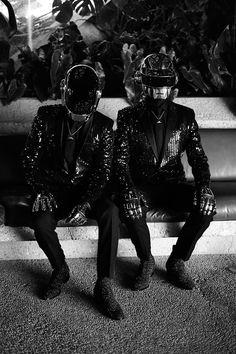 Guy-Manuel de Homem-Christo and Thomas Bangalter (Daft Punk)