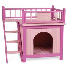 Princess Palace Dog House.... I need a room for Princess puppy to have to herself
