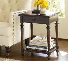 Living room Avery Side Table | Pottery Barn