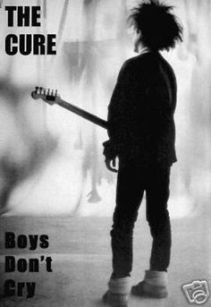 The Cure 'Boys Don't Cry' Album Cover print