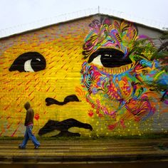 colombian art | ... Viral Art and Street Art Blog » New work from Stinkfish in Colombia