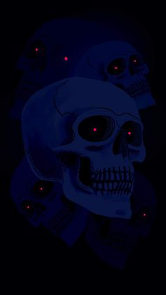 Ghost Skull iPhone Wallpaper - iPhone Wallpapers