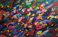 'Floating Nature'  170 x 120, Acryl€ 3.570