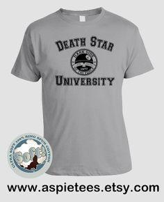 Star Wars Tshirt Funny Death Star University Funny by AspieTees, $20.00