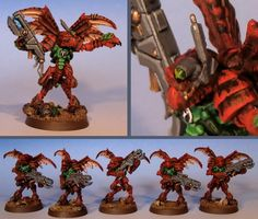 Kroot Mercenaries | Also, I have made some Kroot trackers for the Mercenary army. They are ...