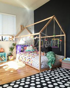 Hey, I found this really awesome Etsy listing at https://www.etsy.com/listing/251161288/toddler-bed-house-bed-tent-bed-children