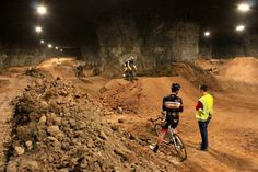 Mega Underground Bike Park - Journal du Design