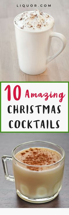 Looking for the best #Christmas cocktails? You've found them. From a decadent#Eggnogfor Christmas Eve to the crowd-pleasingKir Royale, here's what you should be drinking on this holly jolly #holiday. Merry Christmas!
