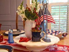 Botanic Bleu: Patriotic~Red, White, Bleu