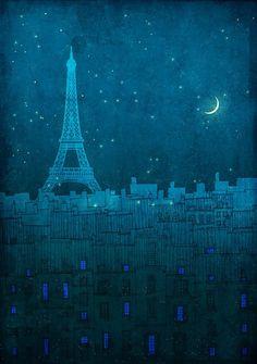 l'm Blue for Paris....