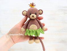 Cuddle Me Monkey Wzorzec Amigurumi