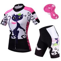 Women Biking Clothes Units Brief Sleeve Reflective Girls's Biking Jersey & Spandex Shorts Package Mtb Bike Bicycle Clothes Sports & Entertainment/Cycling Bicycle Clothing, Cycling Clothing, Women's Cycling Jersey, Road Cycling, Girl Sleeves, Bike Shoes, Spandex Shorts, Mtb Bike, Cycling Outfit